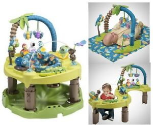 Evenflo Exersaucer Triple Fun used for two w comes with box