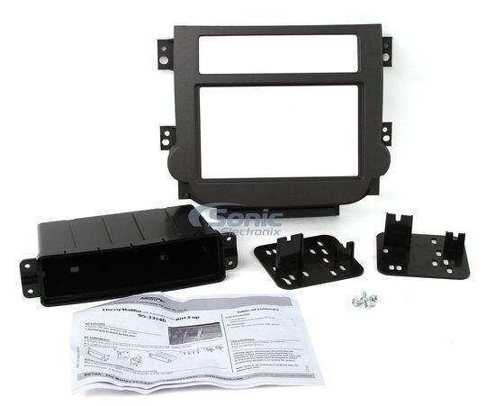 Metra 95-3314G Double DIN Dash Kit for Select 2013-Up Chevy Malibu Vehicles