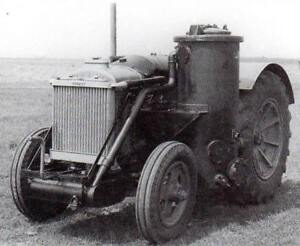 wood gas generator,antique wood gas tractor