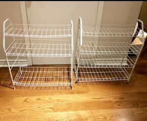 Two Shoe Racks for $10