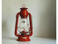 Vintage style camping lanterns