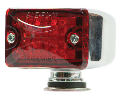 Small Rod Light Red- Lite Kustom Hot Rod Body Mount Accessory