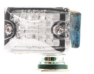 Small Rod Light Clear/Amber- Lite Kustom Hot Rod Body Mount Accessory