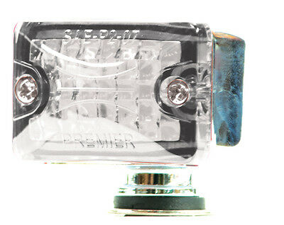Small Rod Light Clear/Red- Lite Kustom Hot Rod Body Mount Accessory