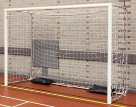 Futsal football indoor folding goals size 3m x 2m Excellent condition