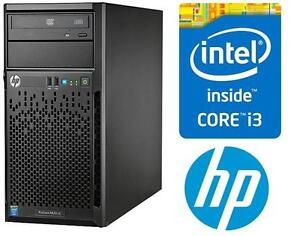 NEW* HP PROLIANT INTEL I3 SERVER PC DESKTOP COMPUTER TOWER SERVER - BAREBONE NO HARD DRIVES INCLUDED ! 104992505