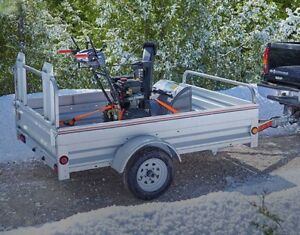 Parts for utility trailer
