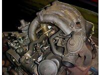TRANSIT ENGINE For Sale, 124k miles. 2.5 desil. M reg (QUICK SALE £199)