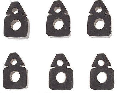 354177s6 - Six Piece Hood Door Bumper Set For Naa 600 700 800 900 Ford Tractors