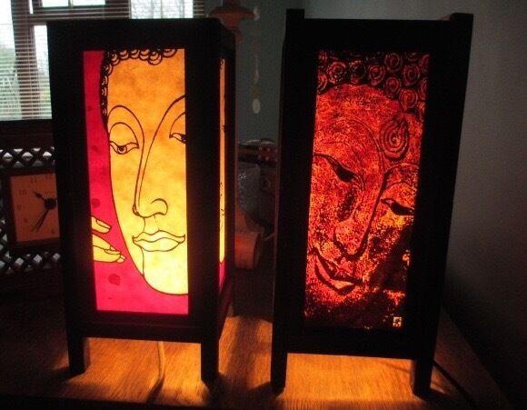 Bedside Table Lamps Oriental