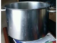 114 cm stainless steel Stock Pot