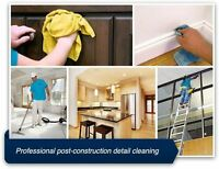 New Construction & Post Renovation Cleaning Services