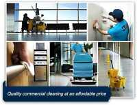 Reliable & affordable commercial cleaning at your service.