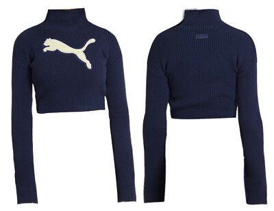 Puma Fenty X Rihanna Long Sleeve Loose Turtle Neck Sweater Jumper 576053 02 A91E