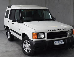 1999 Land Rover Discovery TD5 LT 4WD 5 seater Wagon Templestowe Manningham Area Preview