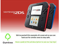Nintendo 2DS -- Read the ad description before replying!!