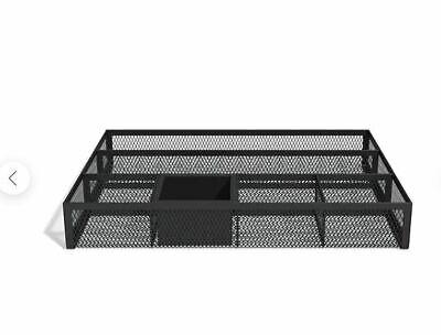 Tru Red 6 Compartment Mesh Drawer Organizer Matte Black Tr57545