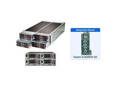 *NEW* Supermicro SYS-F628R3-RC0BPT+ 4U Server - 4 Hot-plug System Nodes