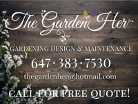 House cleaning and garden maintenance