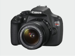 CANON EOS REBEL T5 like new !!!!