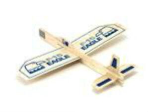Eagle-Balsa-Wood-Glider-Kit-Fun-Fun-Made-in-the-USA-We-combine-shipping-GUI26