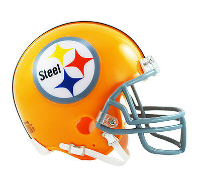 (PITTSBURGH STEELERS THROWBACK 1962 RIDDELL FOOTBALL MINI HELMET 3001291)
