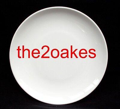 - 4 Centura White Coupe Salad Plates 8-5/8