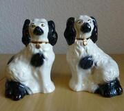 Pair Beswick Dogs