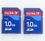 1GB SD Card Lot