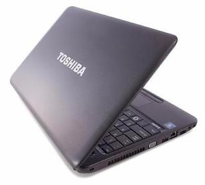 Toshiba Satelite c655 S5206 - Turion ll P540 Dual - 8 GB RAM - 320 GB HDD - Windows 8.1 Pro - CAM_DVD_HDMI_USB 2_VGA