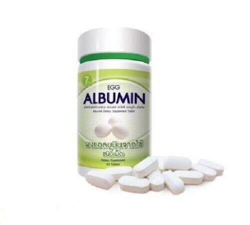 Egg Albumin 85% Protin From Egg White For Health Body Healthy 60 Tablets