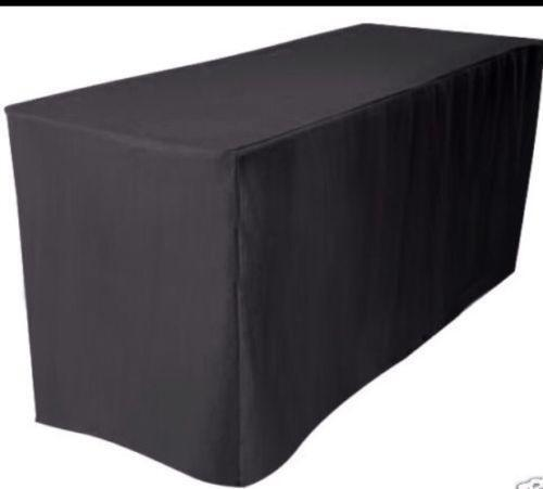 Black Fitted Tablecloth Ebay