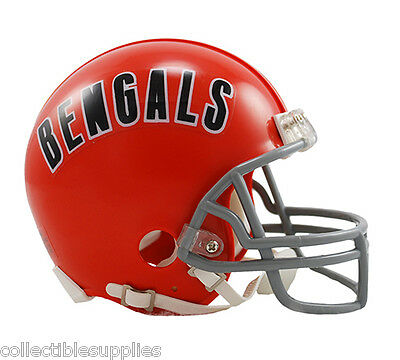 CINCINNATI BENGALS 68-79 THROWBACK MINI FOOTBALL - Bengals Helmet