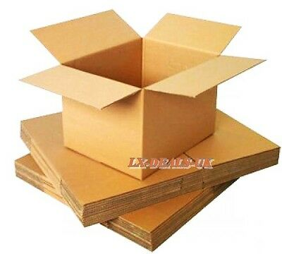 10 SINGLE Wall strong 8x6x6 Cardboard Mailing Gift Postal Perfume Boxes large