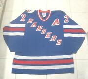 New York Rangers Authentic Jersey