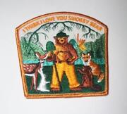 Smokey Bear Patch