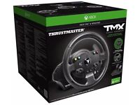 Thrustmaster TMX Force Feedback Steering Wheel For Xbox One & PC, Pedals AND STAND!!!