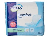 TENA Comfort Mini Super Incontinence Pads 5 PACKS OF 28