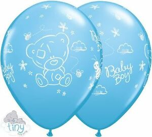 Tiny-Tatty-Teddy-Nino-Bebe-5-Globos-Latex-Ducha-Decoracion-Fiesta