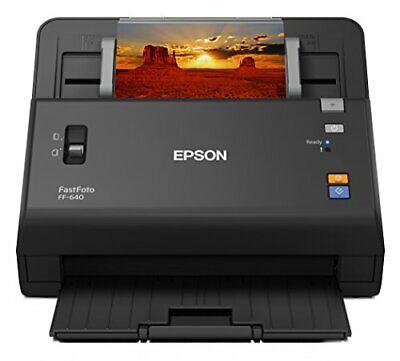 EPSON FastFoto FF-640 Multi-feed, High Speed Photo Scanner