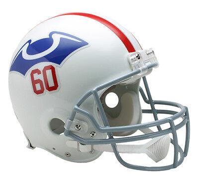 NEW ENGLAND PATRIOTS (1960 Throwback) Riddell Full-Size VSR4 Authentic Helmet 1960 Authentic Throwback Helmet