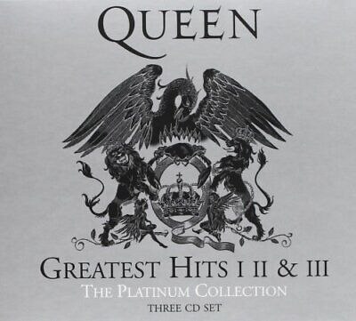 Queen Greatest Hits I II & III The Platinum Collection 2011 CD Boxset New Sealed