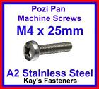 4mm Stainless Steel Bolts