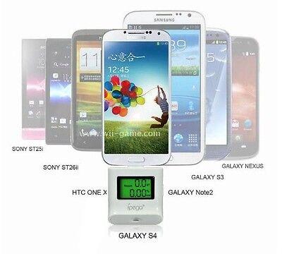White IPEGA ALCOHOL TESTER BREATHALYZER COLOR BACKLIGHT Samsung S3 S4 i9300