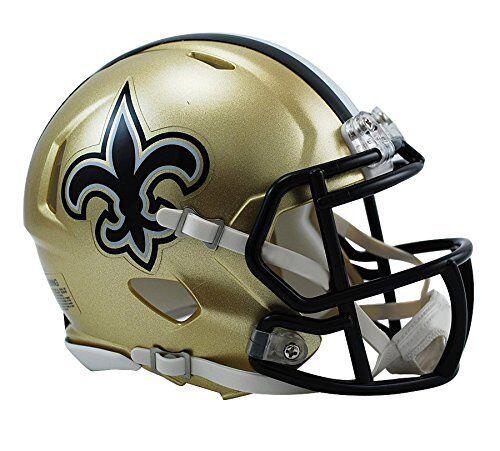 Riddell New Orleans Saints NFL Replica Speed Mini Football H