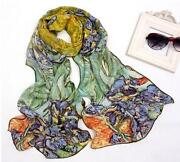 Painted Silk Scarf