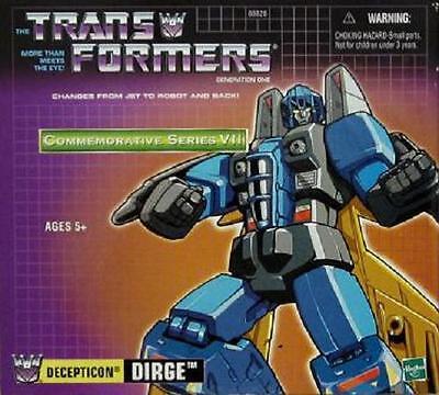 New   Sealed   Transformers G1 Generation 1   Decepticon Dirge Tru Reissue   Bin