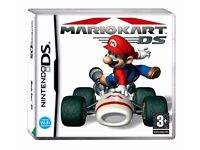 ds games super mario and mariokart £30 for both