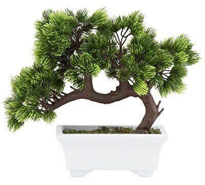 Desk Bonsai Tree - Fake Plant Decoration, Potted Artificial House Plants