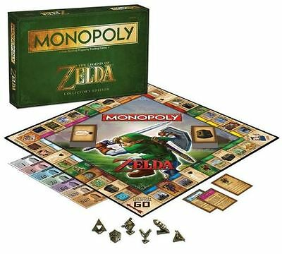 The Legend of Zelda Monopoly Board Game Collector's Edition *NEW* by USApoly